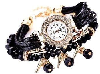 bransoletka/zegarek KORA BLACK