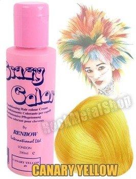 toner do włosów CRAZY COLOR - CANARY YELLOW [049]