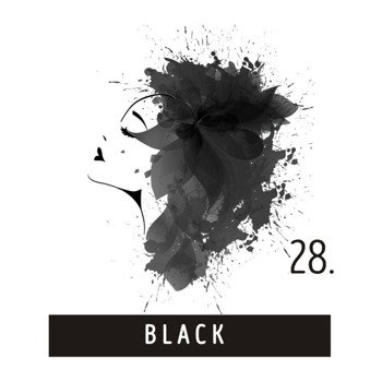toner do włosów FUNKY COLOR - BLACK [28]