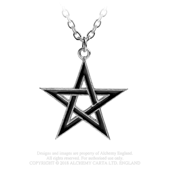 wisior BLACK STAR