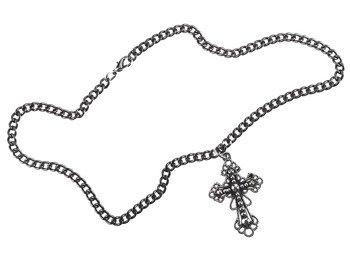 wisior + łańcuch KRZYŻ