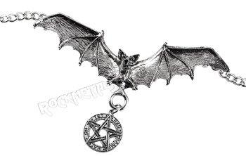 wisior + łańcuszek PENTAGRAM - BAT
