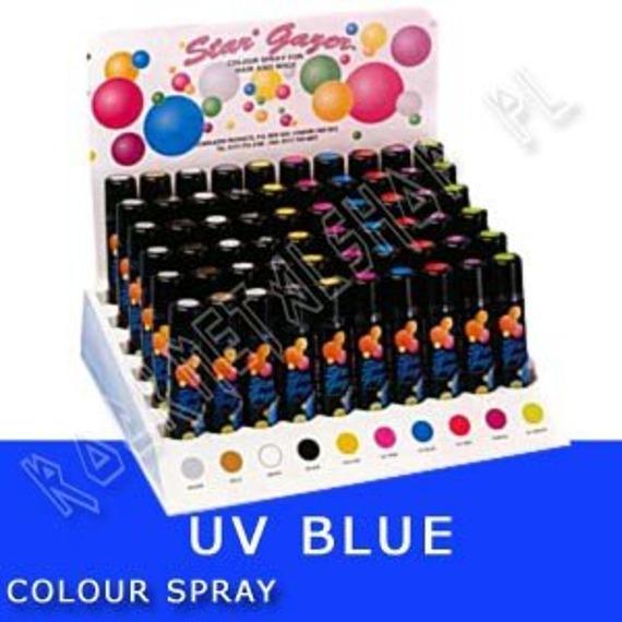 spray koloryzujący UV BLUE