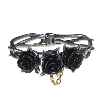 bransoletka BLACK ROSES