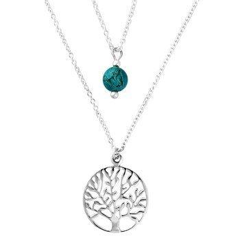 naszyjnik TREE OF LIFE, srebro 925