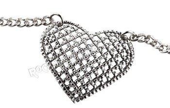 wisior + łańcuch HEART