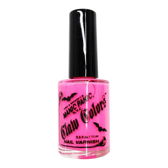 LAKIER DO PAZNOKCI MANIC PANIC CLAW COLORS - ELECTRIC FLAMINGO