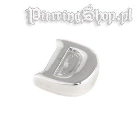 NAKRęTKA OZDOBNA LITERA D gwint 1,6mm (SC31D)